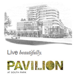 Pavilion at South Park. Live <em>Beautifully</em>.